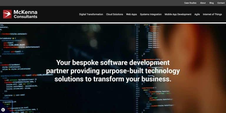 McKenna Consultants Website