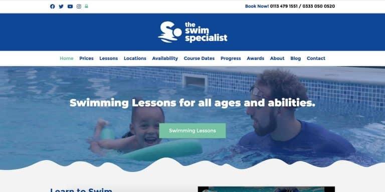 The Swim Specialist Website